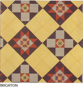 Tessellated floor tiles
